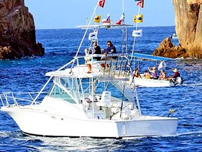 35' Fishing Yacht Rental Cabo